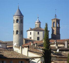 Città di castello, campanile, duomo, torre civica